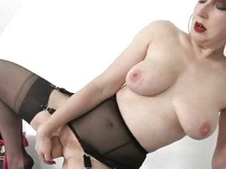 Mature stocking diva 2