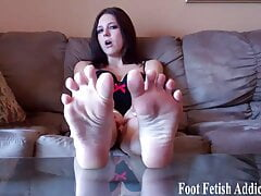 My perfect size 10 feet need daily pampering