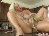 Teen Harlow Harrison shows her stepmom some love