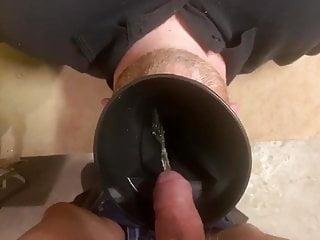 Human Urinal drink piss + facefuck