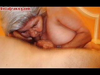 Old latina boobs and big ass...