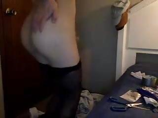 Masturbating 4 fans...