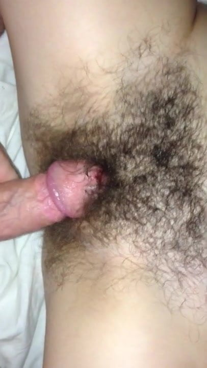 Young Hairy Pussy Creampie