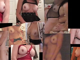 Wife riding on top collage