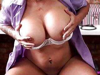 Horny nurse harley encourages wank hd...