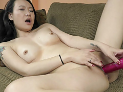 ChickPass - Zoe Lark has an orgasm with her dildo