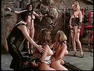 Lesbian babes in BDSM orgy