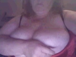 BBW big tits on webcam