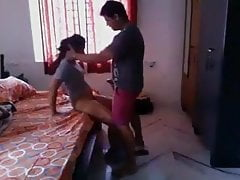 She fucks her brother in law while her sister goes to work