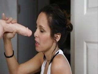 Elena suck dildo