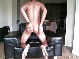 Skinny amateur alex strokes dick...