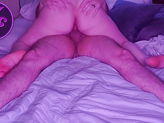 Amethyst Soles rides to orgasm with Jarret Dean