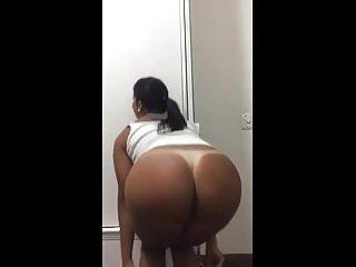 Amateur latin slut stripping...