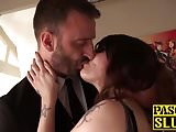Brunette MILF Miss Trixx fingered by big dick Pascal