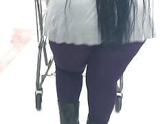 Thick Bondage Mask Mature Throwing Arse Under That Jacket