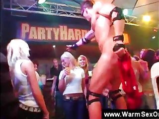 Teenagers loosing control with strippers