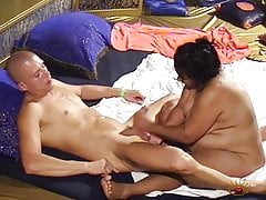 Swinging with a fat Indian chick