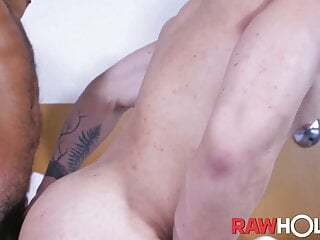 RAWHOLE Hunky Latin Alex Ronald Barebacked By Rico Marlon