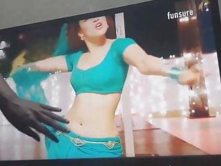 Cum Tribute on Tamanna Bitch