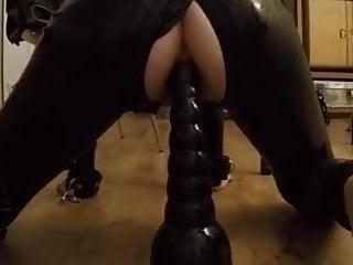Mixie anal training...