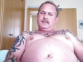 fat bellied Daddy wank