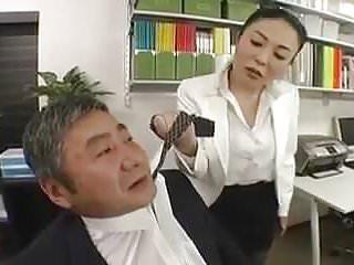 Asians office ladt rough...