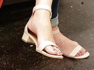 Candid asian feet 3