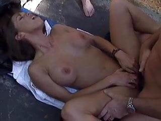 British milf Nici Sterling gets fucked in a FFM threesome