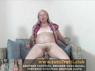 Hairy euro slut granny first porn...