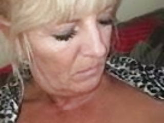 Tanned sexy milf