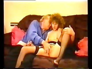 British amateur couple fuck on sofa