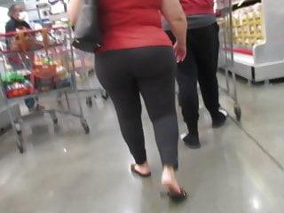 Mature gray leggings built for riding...