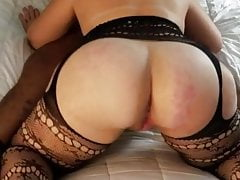 wife sucks a big black cock