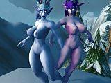 Warcraft Snow Bunnies