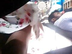 Sri lanka upskirt bus frock