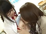 Japanese teacher convinced by schoolgirl to do lesbian acts