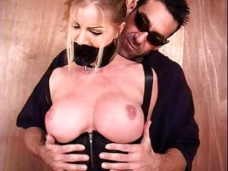 Vibrator Bondage Milf video: Sophie with huge tits in bondage