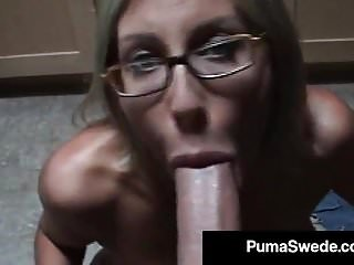 Euro Porn Superstar Puma Swede Will get Milky Glasses After Blow Activity!