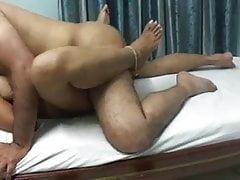 Mallu aunty fucking with uncle