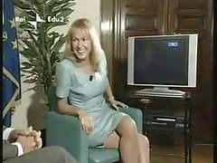 European Television Showcase Dual Crossed Legs
