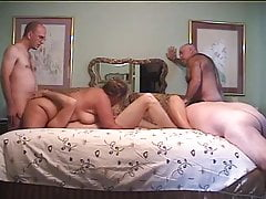 Mature Group Sex Part 4