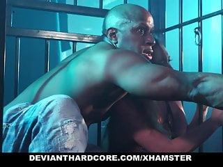 DeviantHardcore – Caged Slut Gets Dominated By BBC