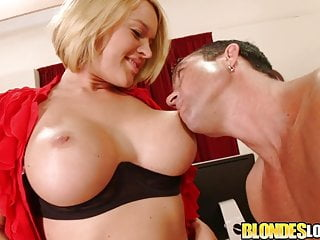 Blondes Love Dick - Krissy Lynn Surprised by a Fat Cock