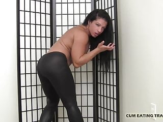 I love it when you eat your cum for me CEI