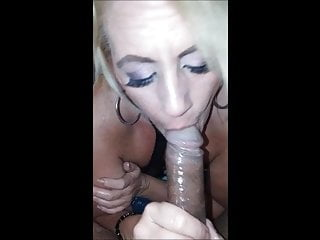 White Milf Wife Obeys Her Husband and Eats Black Dick
