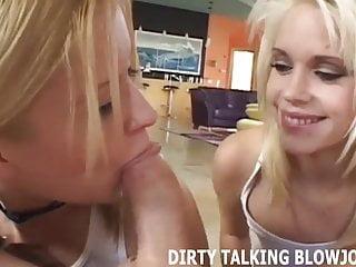 Parlando sporco mentre ti fai un pompino POV