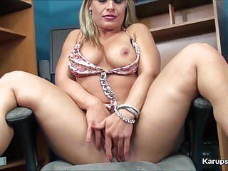 Skylar Rae Solo Fingering Her Pussy