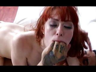 Stuning bdsm slut full brutal hard sex at couch