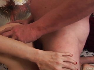 Kinky aged spunker with a foot fetish loves fucking