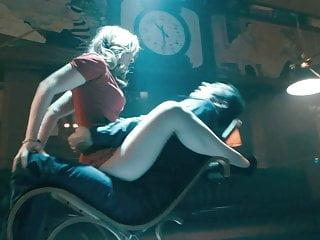 Rocking Chair Cum On Girl